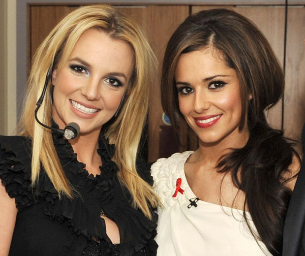 Britney Spears and Cheryl Cole met up on The X Factor
