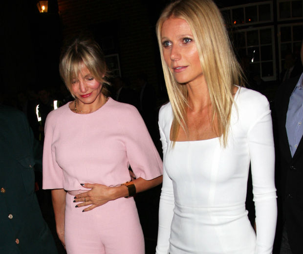 Cameron Diaz and Gwyneth Paltrow looked stunning last night