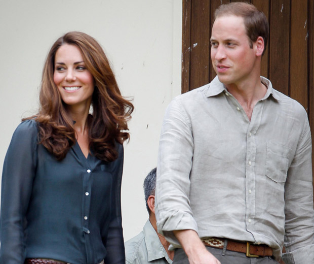 Kate Middleton and Prince William were all smiles in Borneo