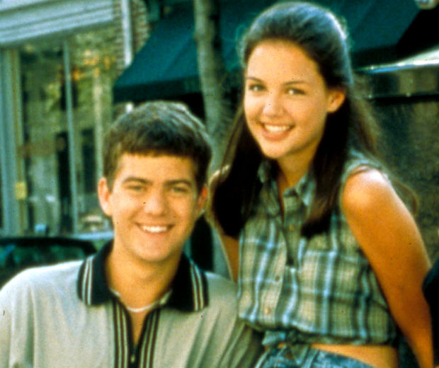 Joshua Jackson and Katie Holmes used to date!