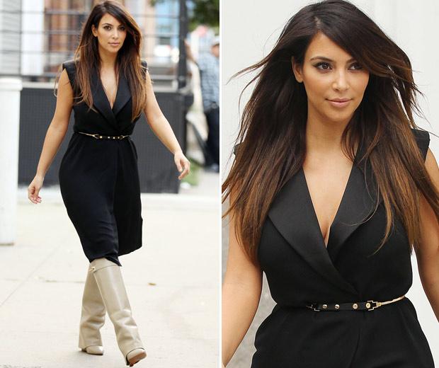 kim Kardashian's Hair: Get Tips On Getting AW12's Hottest Hair Colour, 2012