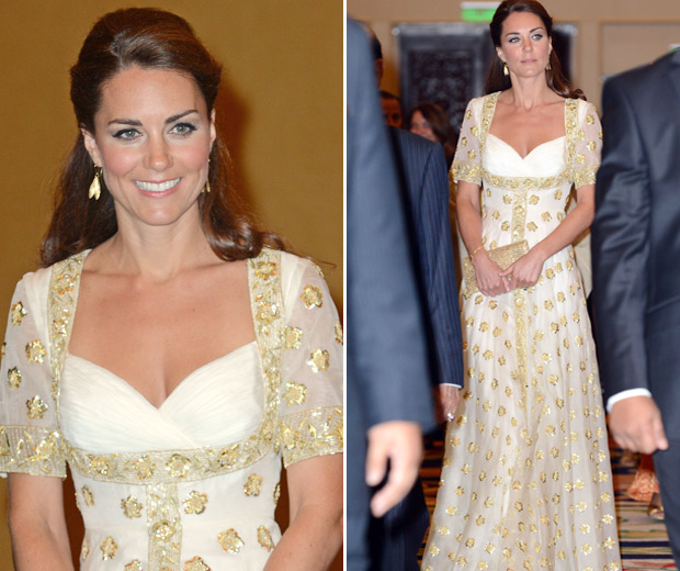 Kate Middleton looked gorgeous in her Alexander McQueen gown
