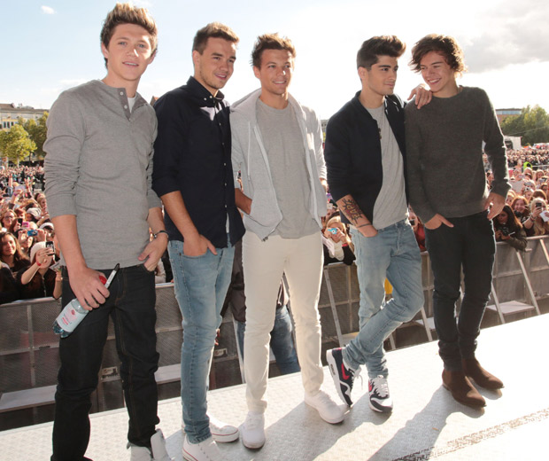 One Direction looked hot in Germany