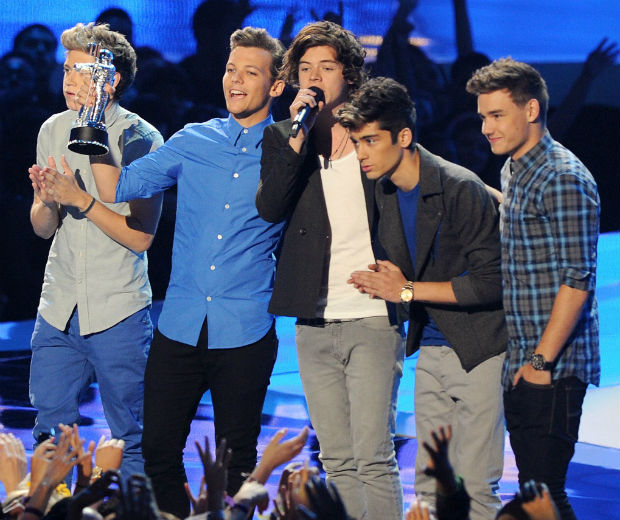 One Direction won at the MTV VMAs, will they win EMAs too?