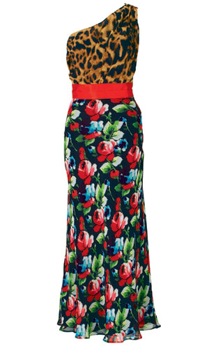 Online high street fashion shop Very's Myleene Klass Mixed Print Maxi Dress is our hot fashion buy of the day