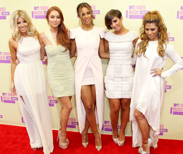 The Saturdays At The MTV Video Music Awards, 2012