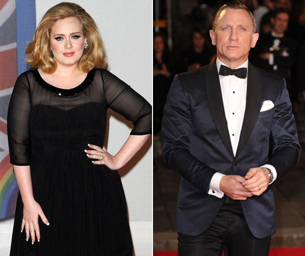 Daniel Craig has said that Adele's soundtrack for Skyfall made him cry