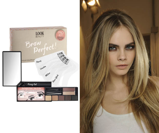 Get Cara's gorgeous brows in just a few steps!