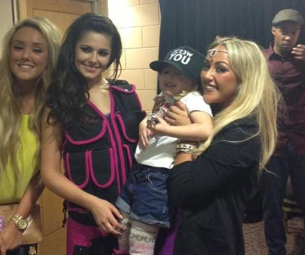 The Geordie Shore girls were ecstatic at meeting Cheryl Cole backstage