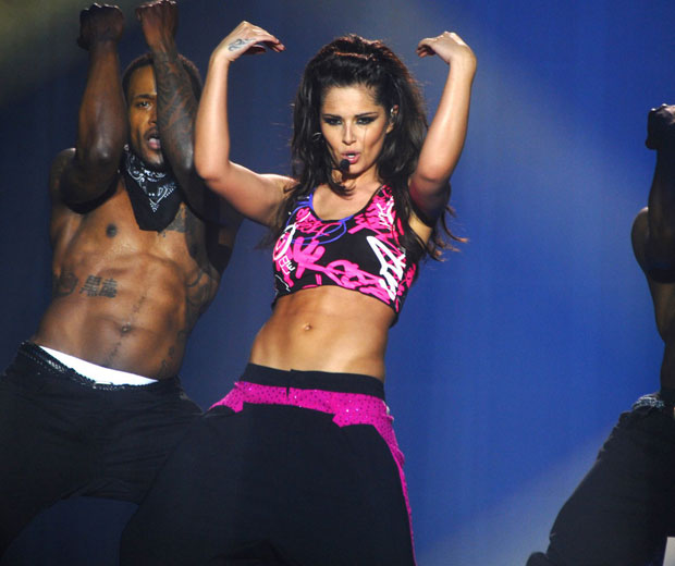 All eyes were on Cheryl Cole's abs for her solo tour debut