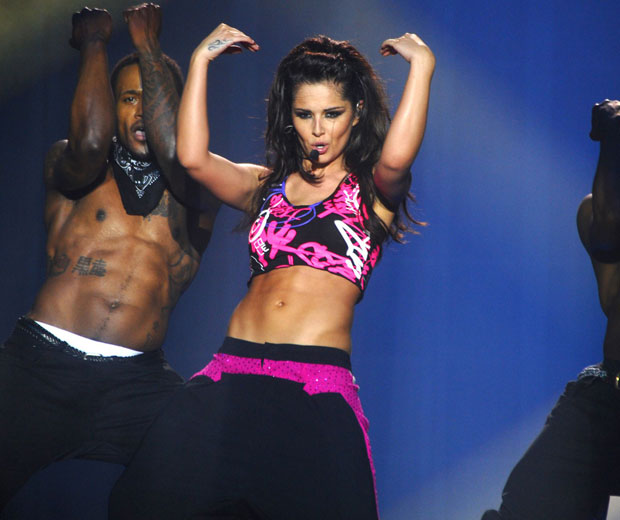 Cheryl Cole apparently ran out of underwear while she was on tour