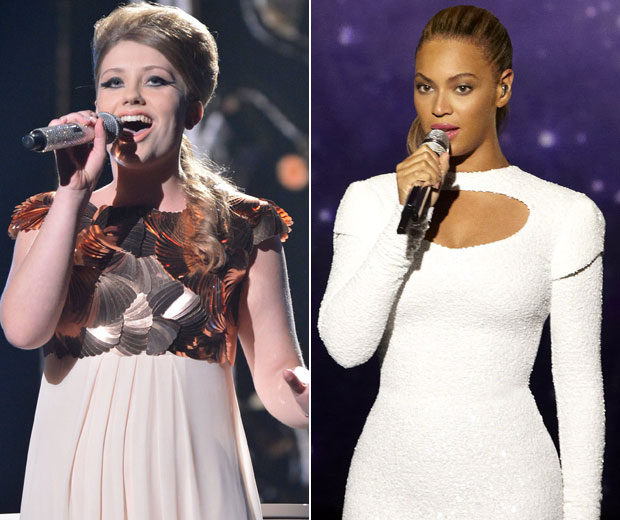 Beyonce is rumoured to be joining Ella Henderson on stage if she makes it to the final