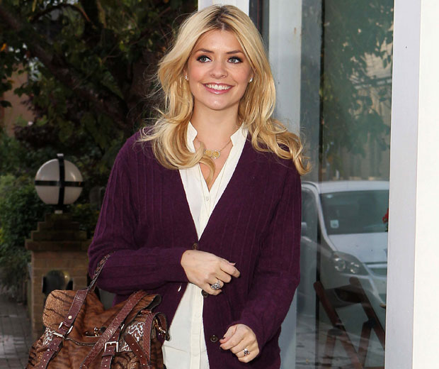 Holly Willoughby has revealed that she can't get enough of the racy novels