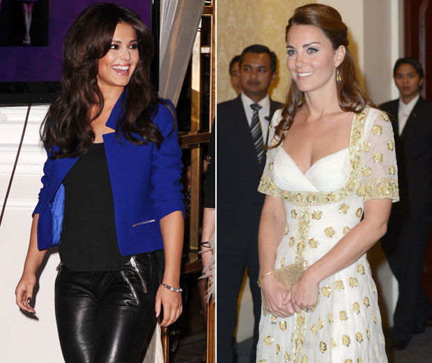 Cheryl Cole has spoken about Kate Middleton's boobs in an interview with Sunday Times Style