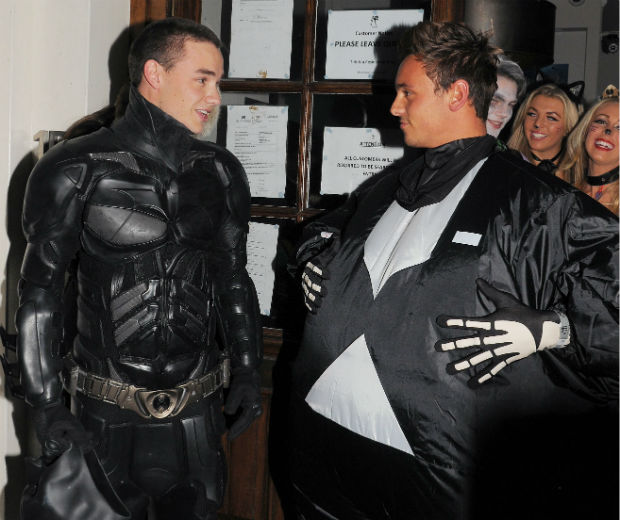 One Direction's Liam Payne and Tom Daley celebrate Halloween in style