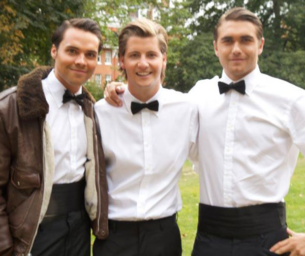 Made In Chelsea introduces three new boys tonight - Andy, Stevie and Sam