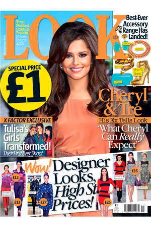 High street fashion fans will love our issue featuring Cheryl Cole and an X Factor exlusive for only £1!