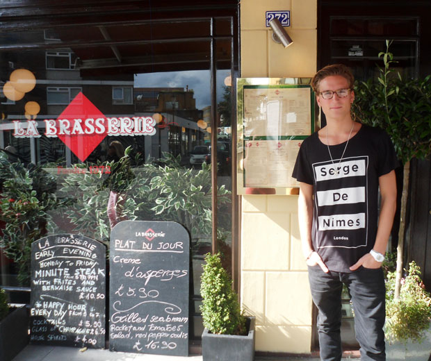 Oliver Proudlock tells LOOK the coolest places to hang out in Chelsea