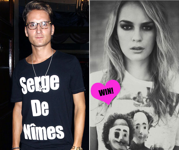 WIN one of Oliver Proudlock's Serge De Nimes t-shirts by tweeting us #Proudlocktee