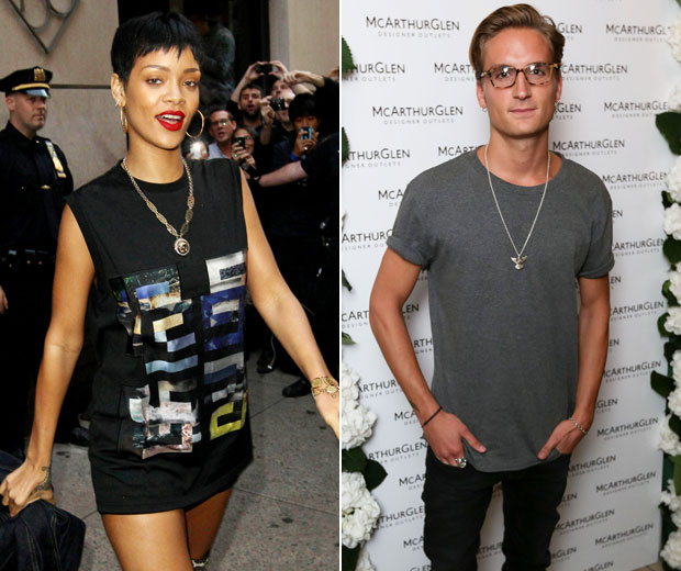 Made In Chelsea's Oliver Proudlock has told us that Rihanna is his ideal woman