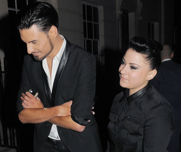 Rylan Clark and Lucy Spraggan have been forced to leave the X Factor hotel