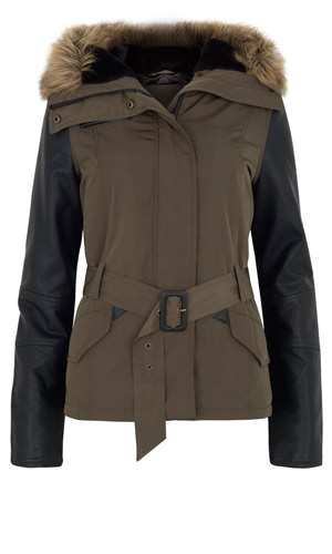 Primark winter coat for only £25, 2012