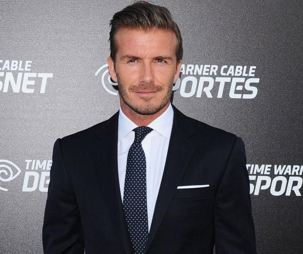David Beckham looked H.O.T last night