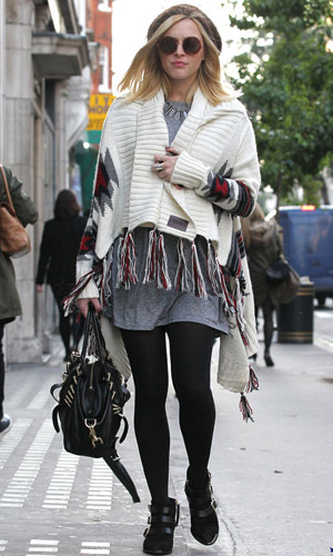 Fearne Cotton Rocking Fab Maternity Outfits, 2012