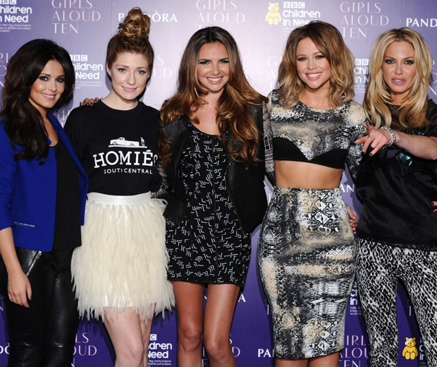 Girls Aloud - reunited and we're SO glad!