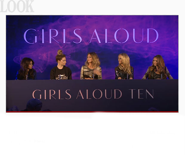 Girls Aloud are back together!