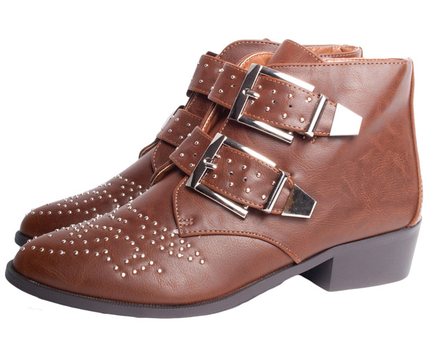 Glamorous Ankle Boots For Winter 2012, We Love The Studded Boot Detail