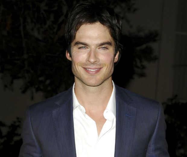 Ian Somerhalder is after the role of Christian Grey