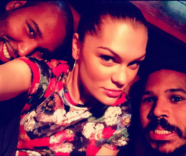 Jessie J took this self pic in the studio!