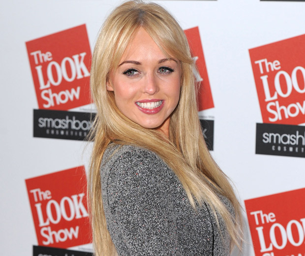 Jorgie Porter was all smiles at The LOOK Show