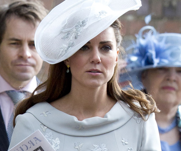 Kate Middleton is rising above the new images that have appeared online.