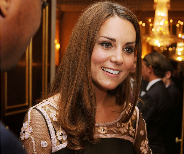 Kate Middleton chatted to the athletes at Buckingham Palace