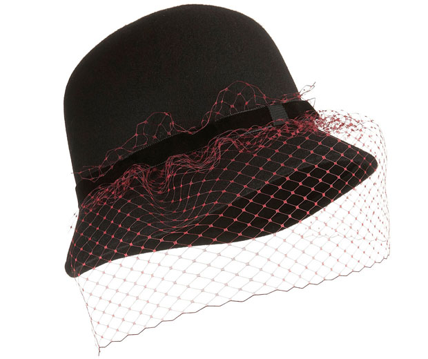 1920s style cloche hat at high street fashion shop Topshop