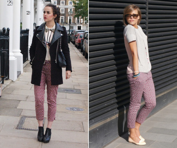 Introducing, high street fashion fans, the AW12 It trousers of the year!
