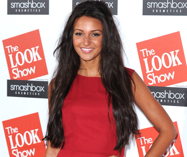 Michelle Keegan looked red hot at the LOOK Show