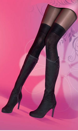 High street fashion fans will love Pretty Polly's new secret socks they're Autumn's hottest trend!