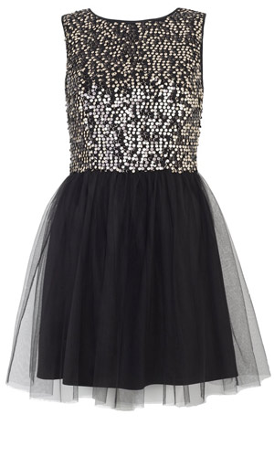 High Street Fashion Store Primark AW12 Party Sequin Dress, 2012