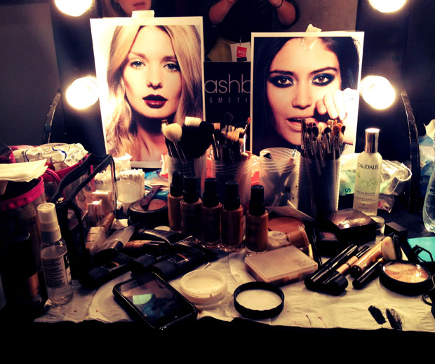 Smashbox Cosmetics at the LOOK Show AW12, 2012