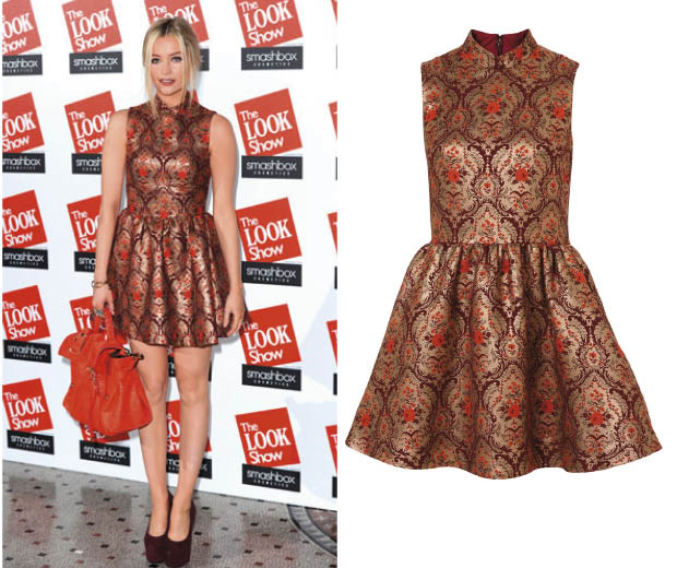 We love Laura Whitmore's Topshop frock that she wore to The LOOK Show AW12!