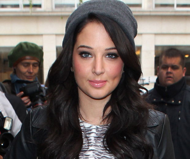 Tulisa's not just thinking about The X Factor at the moment...