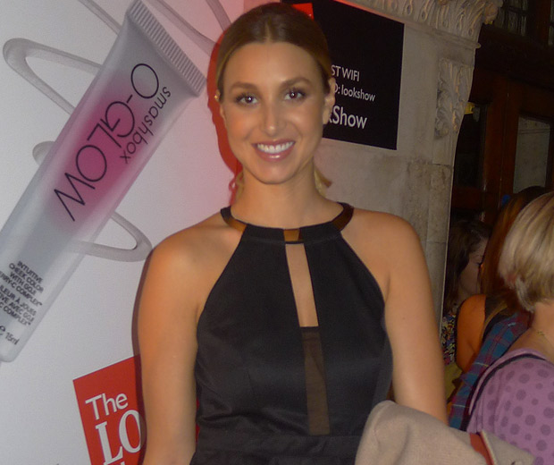Whitney Port looked gorgeous when we caught up with her at The LOOK Show