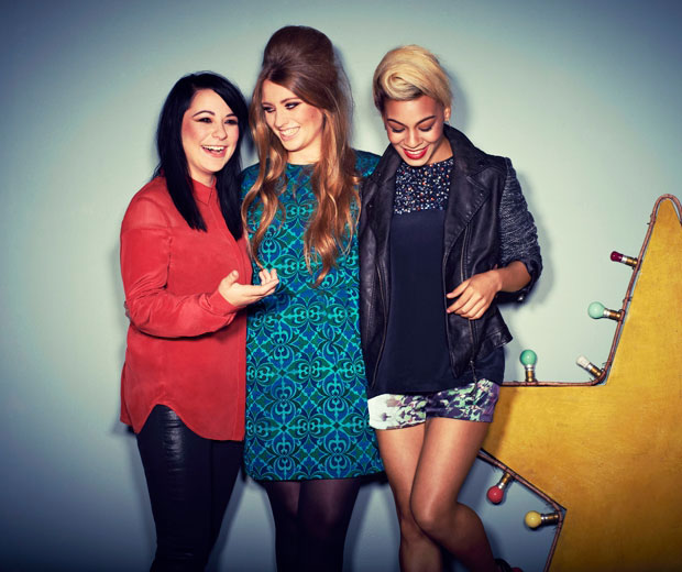 Lucy Spraggan, Jade Ellis and Ella Henderson chose LOOK for their first interview and photoshoot
