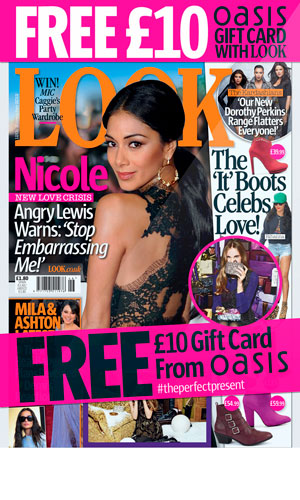 Oasis gift card time, high street fashion fans! Get your Oasis gift card exclusively in this week's LOOK magazine!