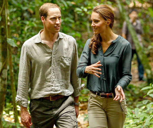 Kate Middleton is a keen photographer and took the pictures on her jungle trip