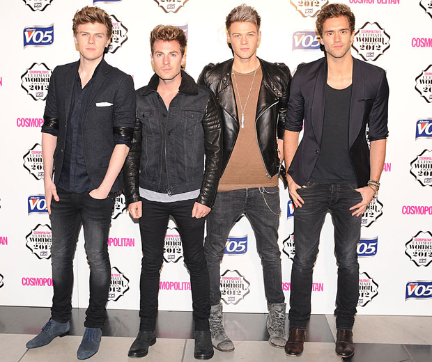 Boyband Lawson have revealed they got in trouble for taking pictures of Kate Middleton
