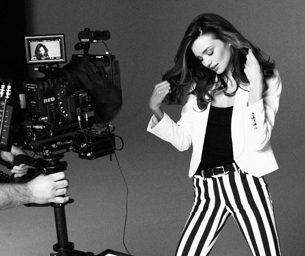 Miranda Kerr is following in the footsteps of Kate Moss as the face of Mango